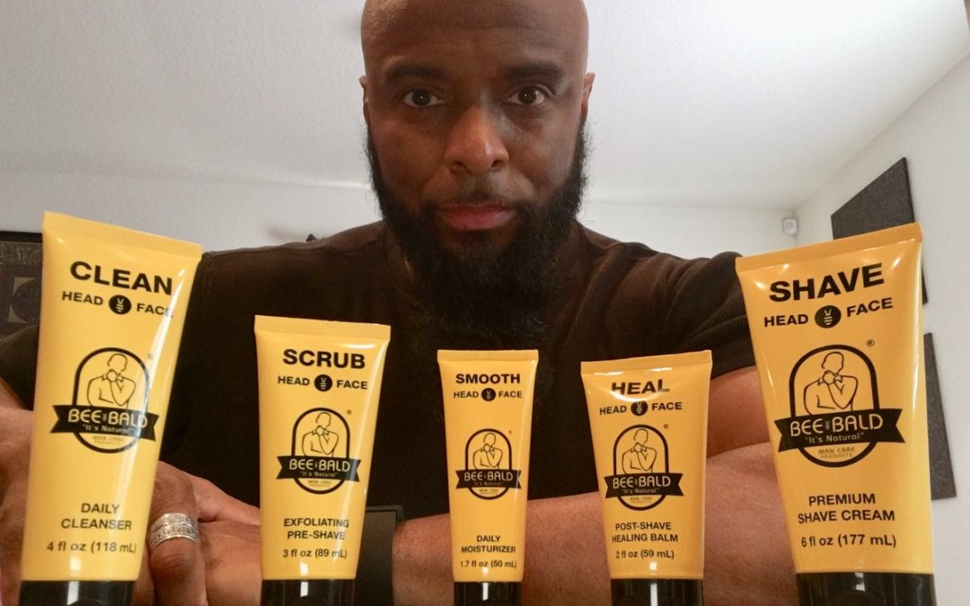 Bee Bald Moisturizer and Sunscreen Review