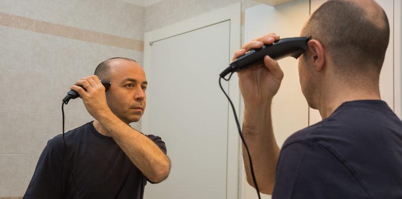 bald-head-razor-preparation